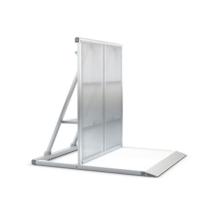 Eurotruss Crowd Barrier Module 1035 Standard silver
