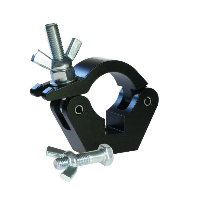 Doughty T58011 Slimline Hook Clamp Black