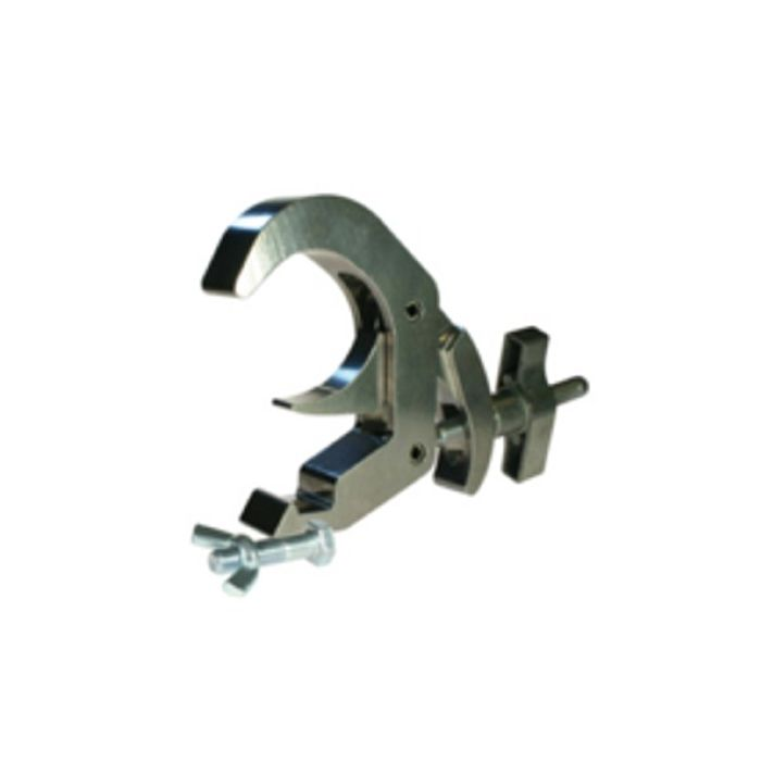 Doughty T58505 Titan Quick Trigger Hook Clamp Silver