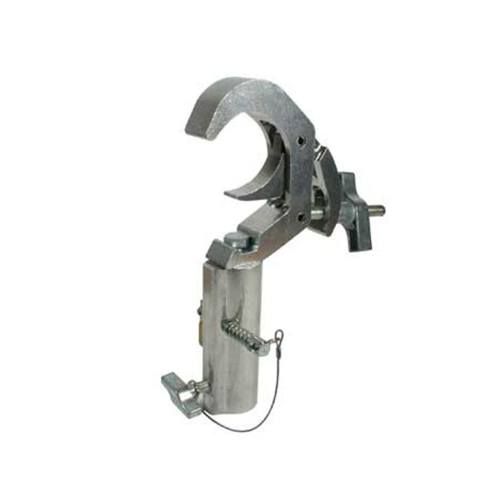 Doughty T58540 Titan Quick Trigger TV Clamp Silver