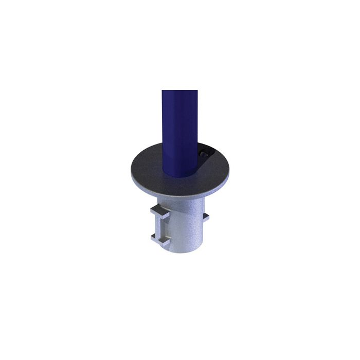 Doughty T13400 Pipeclamp Ground Socket