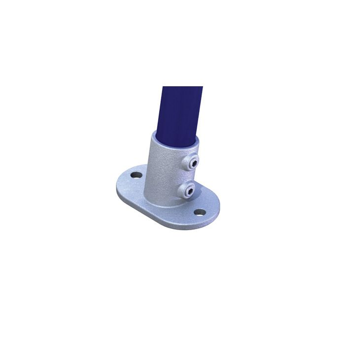 Doughty T17622 Pipeclamp Angled Railin