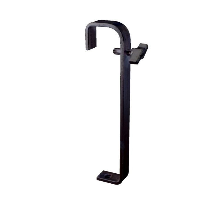 Doughty T2010501 Hook Clamp 50mm Extra Long Black
