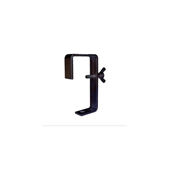 Doughty T2180501 Hook Clamp 75Mm (Blac