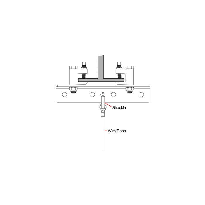 Doughty T29500 Adjustable Girder Clamp
