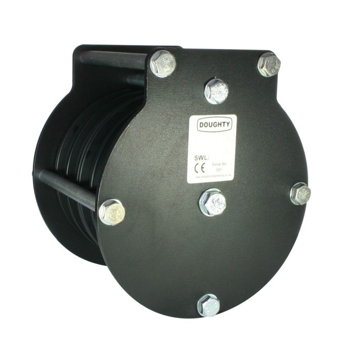 Doughty T42905 100mm Heavy Duty Pulley Quin Wire