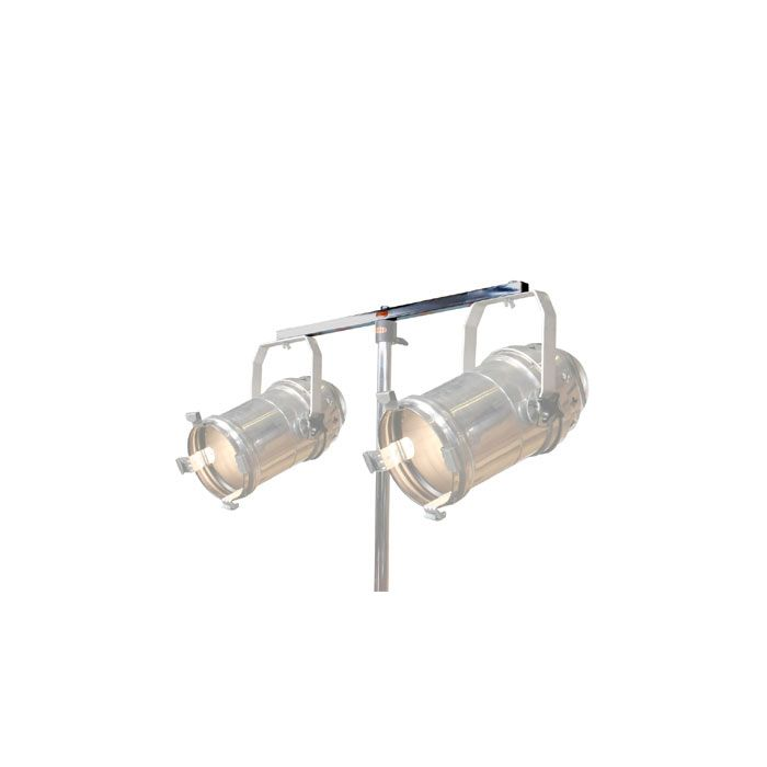 Doughty T43003 2 Lantern Flat Tee Bar Zinc