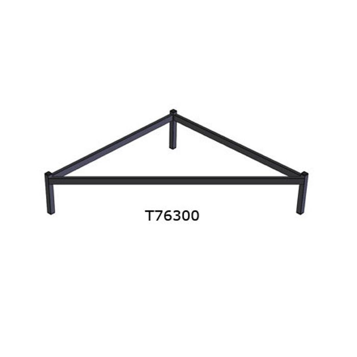 Doughty T76300 Easydeck Triangular 1 x 1 x 0,25m