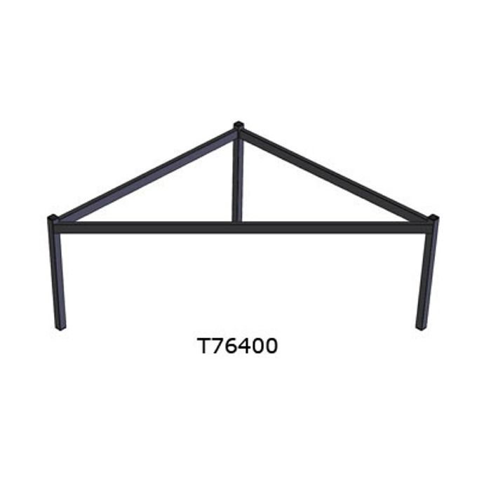 Doughty T76400 Easydeck Triangular 1 x 1 x 0,5m