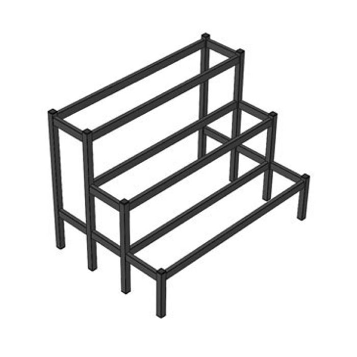 Doughty T76507 Easydeck Triple Step Module