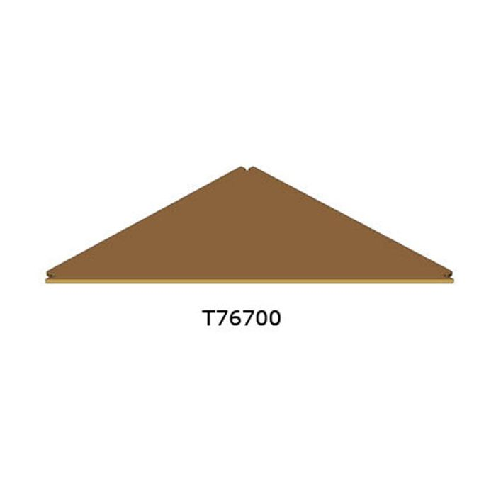 Doughty T76700 Easydeck 1m Triangular Deck Panel