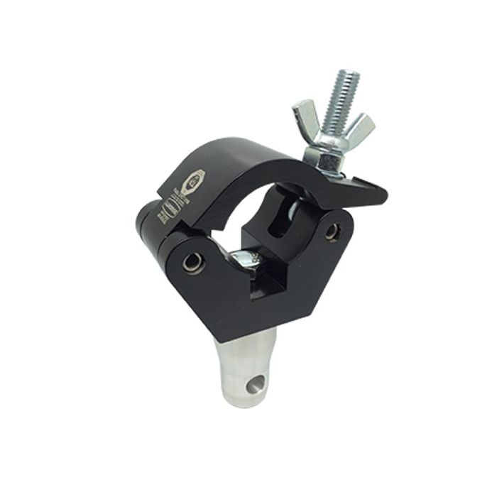 Doughty T45801 Doughty Clamp With Half Connector Black
