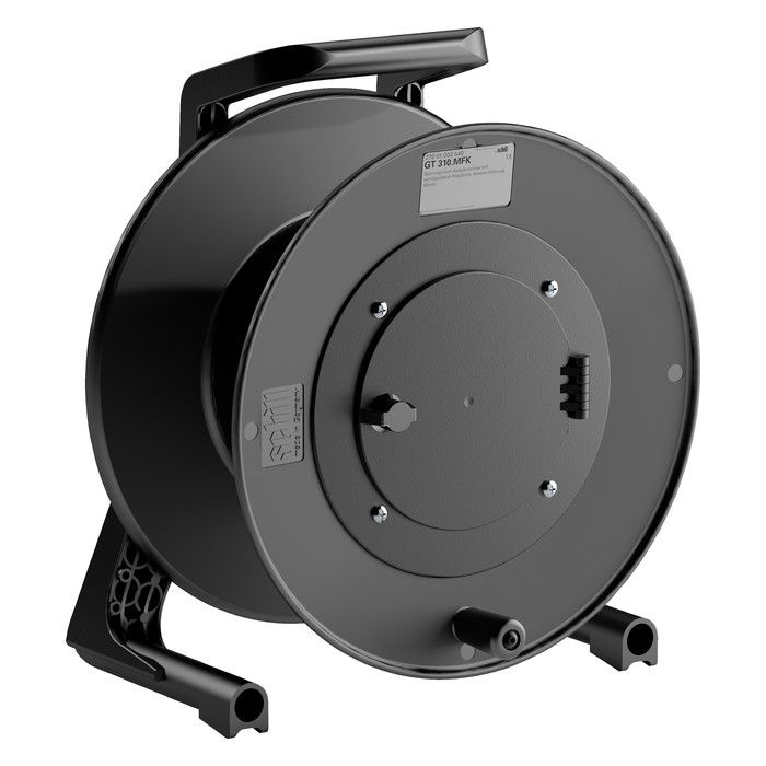 Eurocable Cable reel in thermoplastic 31x13 black