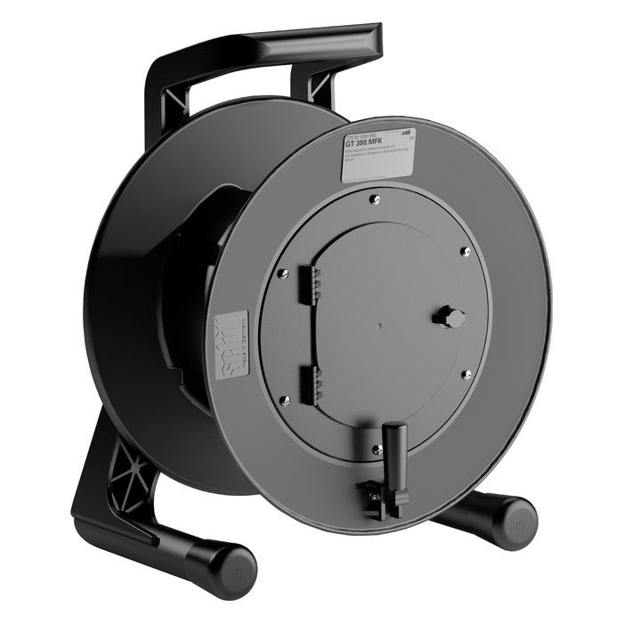 Eurocable Cable reel in thermoplastic 38x18 black