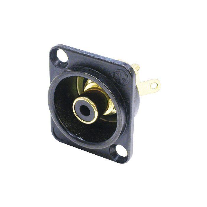 Neutrik NF2D-B-0 RCA svart
