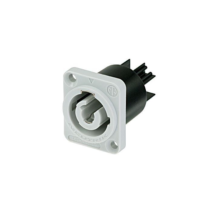 Neutrik Chassis conn, power-out, flat tab terminal