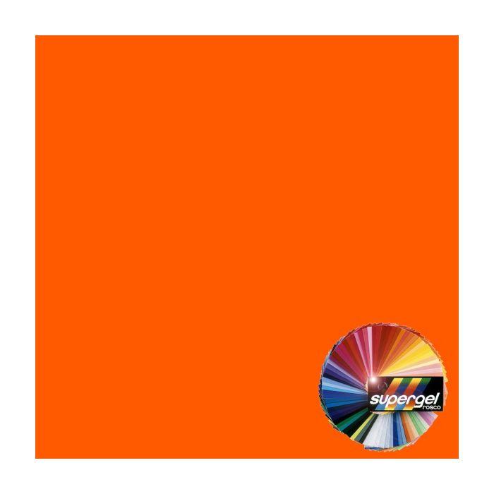 Rosco Supergel 23 Orange