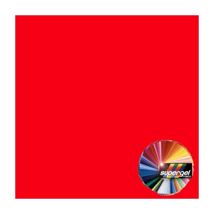 Rosco Supergel 24 Scarlet