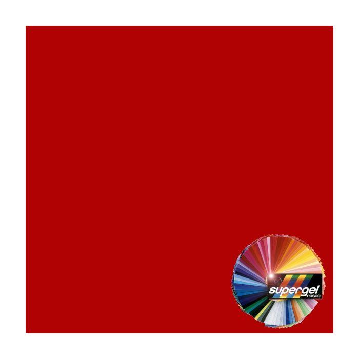 Rosco Supergel 27 Medium Red