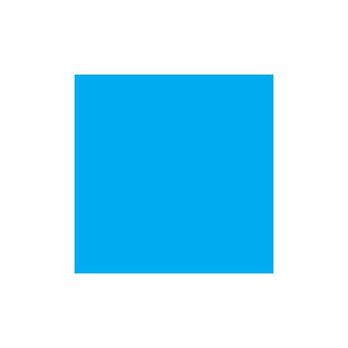 Rosco E-Colour+ 141 Bright Blue