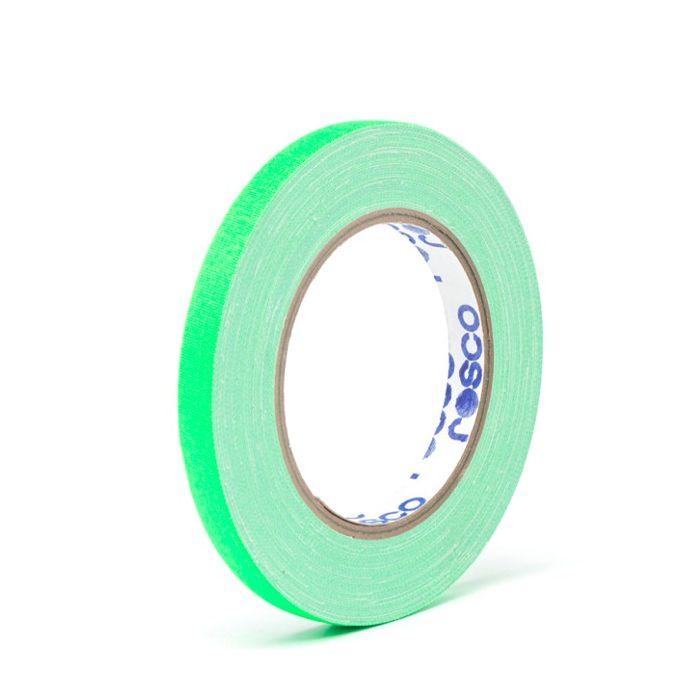 Rosco GaffTac 12mm x 25m Fluor Green Spike Tape