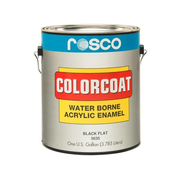 Rosco Colorcoat Black Flat 3.79l