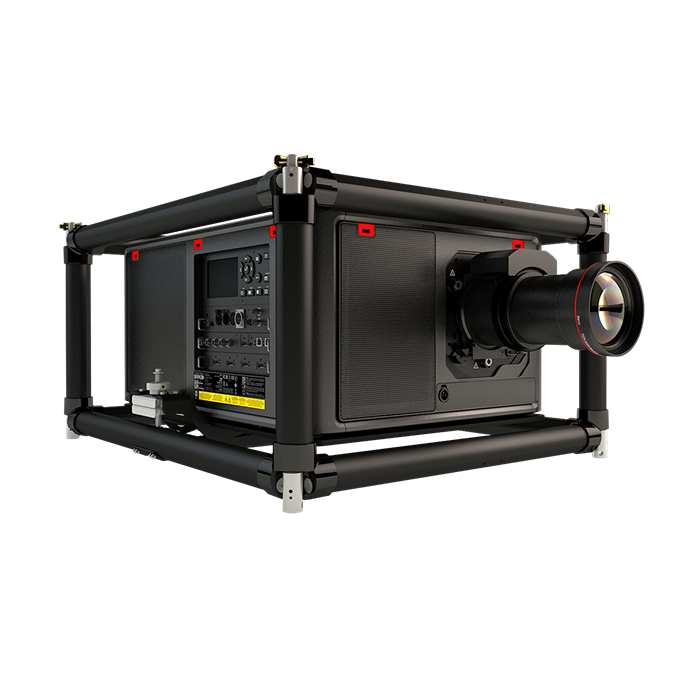 Barco UDM 4K15 FRAME + FLIGHT CASE