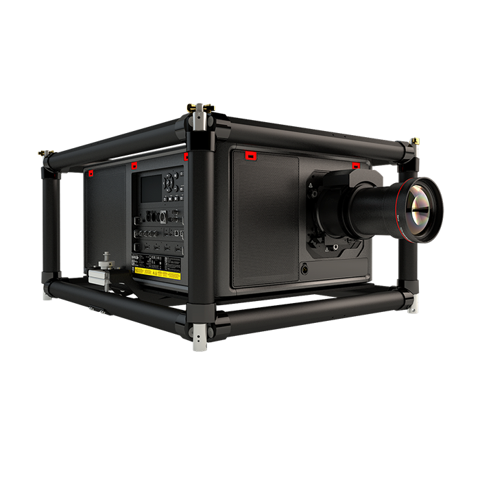 Barco UDM W22 FRAME + FLIGHT CASE