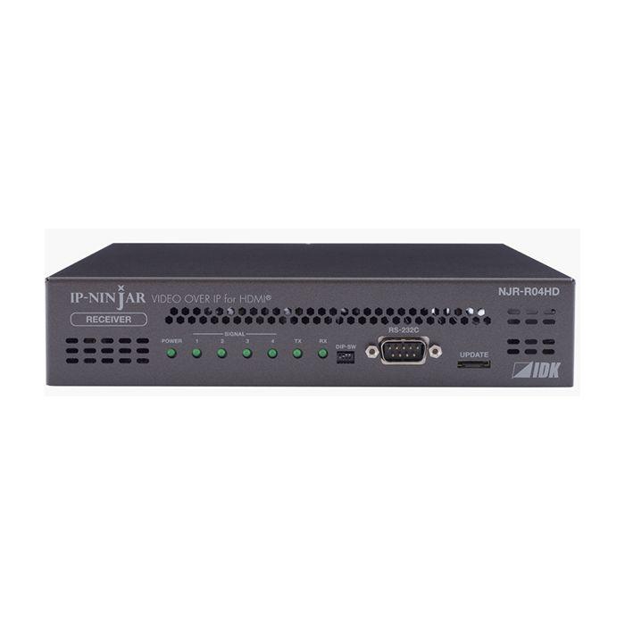 IDK 4-channel HDMI Decoder, Singlemode SFP+