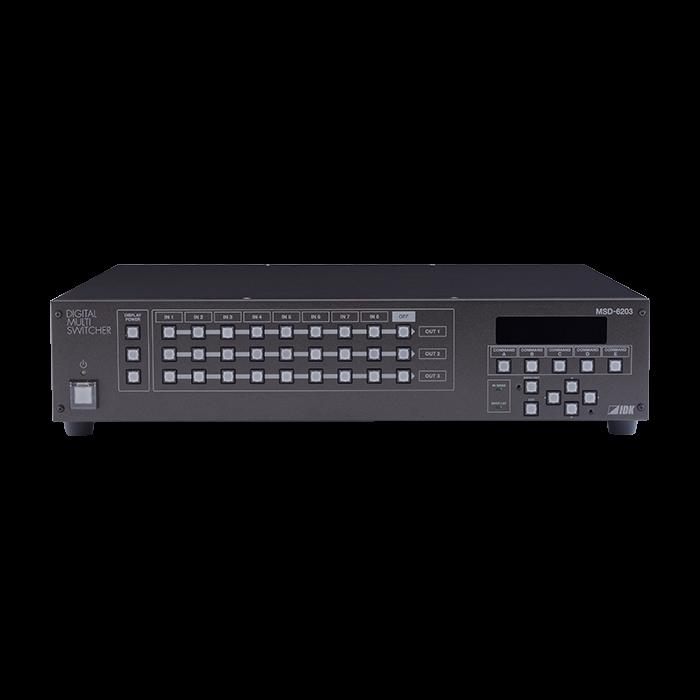 IDK 4K Digital Multi Switcher,8 Inputs & 3 Outputs