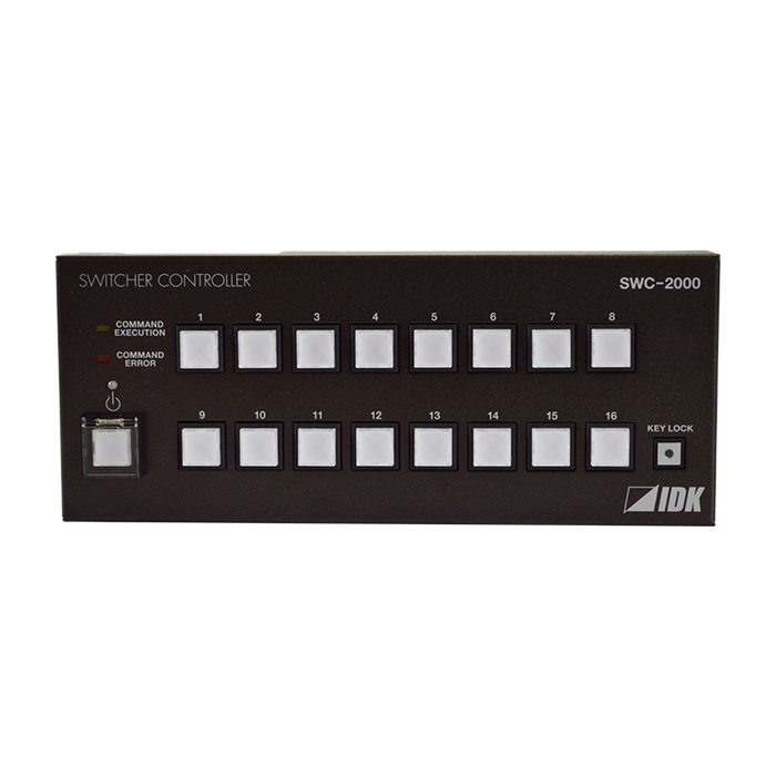 IDK SWC-2000 16 Push Buttons Remote Controller